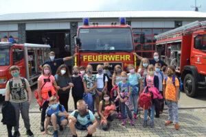 Besuch der Feuerwehr Klasse 3 12.07.2021